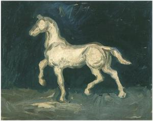 plaster-statuette-of-a-horse